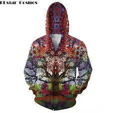 <b>PLstar Cosmos</b> 2018 New <b>Fashion</b> men 3d Zipper <b>Hoodie</b> aztec ...
