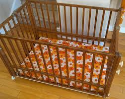 retro baby furniture. vintage wooden folding portable baby crib shower nursery gift retro 1960u0027s 1970u0027s furniture