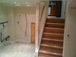 Stair Exciting Basement Stair Ideas For Beautifying The Often - Finish basement floor