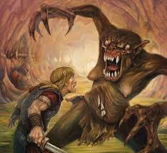 monster creature grendel. Exellent Monster Britt Martinu0027s Illustration Of Beowulf Battling Grendel And Monster Creature