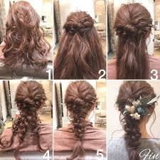 2次会またその髪型でいくの自分で簡単にヘアアレンジしよ