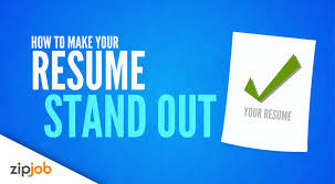Making Your Resume Stand Out From The Crowd 2017 Youtube