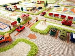 childrens play rug imagination the play rug features 3 roads and buildings that allow them to childrens play rug streets