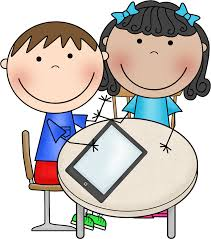 Image result for kids working on iPads clipart