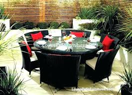 large round outdoor dining table round patio dining table for patio furniture dining sets fantastic