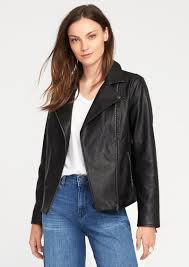 old navy faux leather moto jacket for women