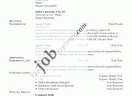 Famous Resume Job Experience Past Present Tense Ideas Resume