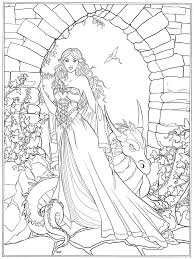 Fantasy Coloring Pages Selected Free Fantasy Coloring Pages Fairy Of
