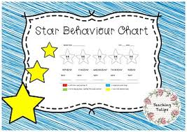Star Student Chart Star Behaviour Chart
