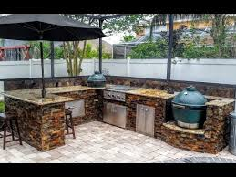 Outdoor Kitchen Designs With Pool Custom Decoration