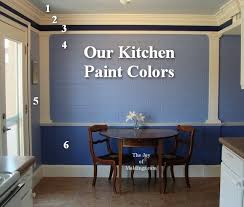 blue kitchen wall colors. Simple Blue How To Paint A Kitchen To Blue Kitchen Wall Colors