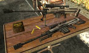 Dying Light Sniper Rifle Large Caliber Sniper Rifle At Fallout New Vegas Mods And