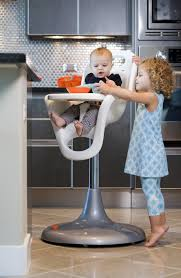 boon flair pedestal highchair with pneumatic lift review  youtube