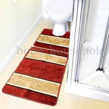 bathroom mats sets uk decorative bath rug dark green rugs set sears