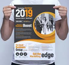 Seminar Design Template Marketing Seminar Poster Template Ideal Corporate Events