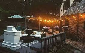 deck lighting kits bunnings outside lights low voltage