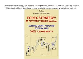 Download Forex Strategy St Patterns Trading Manual Eur Usd