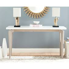 white lacquer console. Simple Lacquer Safavieh Josef White And Grey Console Table Intended Lacquer E