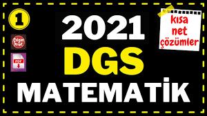 2021) DGS MATEMATİK (PDF açıklamada) - 2021 DGS Matematik Soru Çözümleri  (1-30) - YouTube
