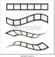 Film Strips Pictures Free Art Print Of Film Strips Various Vector Film Strips For