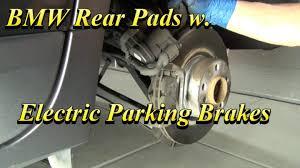 BMW 5 Series best brake pads for bmw : BMW Rear Brake Pads w Electric Parking Brake - YouTube