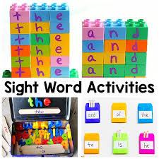 Activities Word Sight Word Activities That Your Kids Will Love