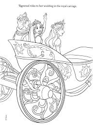 Tangled Coloring Pages Printable Disney