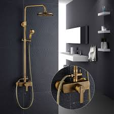 Retro Duschset Duschsystem Duscharmatur Regendusche