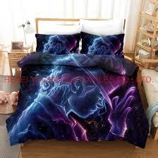 3d high definition printing bedding set