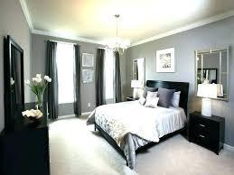 purple grey themed bedroom decor gray