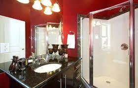 Red Bandana Bathroom Decor dayrime