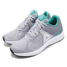 Details About Reebok Endless Road Grey Teal White Lime Women Running Shoes Sneakers Cn6428