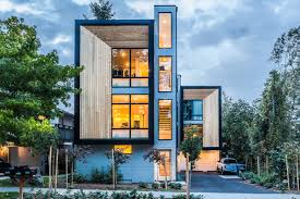 Modern Prefab Townhomes in West Seattle ...