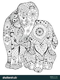 Elephant Colouring Pages To Print Elephant Coloring Pages Printable