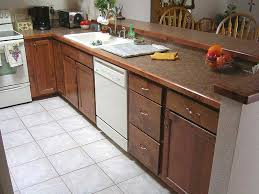 wood edge laminate kitchen countertops