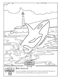 Small Picture Orca Whale Coloring Pages Printable A Group Of Killer Whales Free