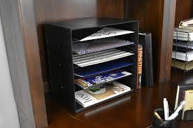 6 tier vertical trays doent file holder office desktop sorter rack adjule shelves