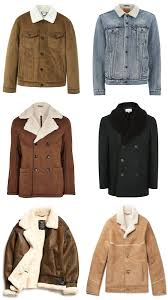 the best shearling jackets for men