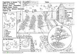 Color each tool coloring page. Educational Green Gardening Colouring Pages Little Green Blog