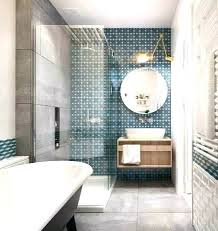 tile accent wall in bathroom bathroom accent wall bathroom accent wall blue and white geometric bathroom accent wall bathroom accent wall glass tile accent