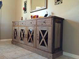 rustic dining room sideboard. Dining Room Sideboard Buffet Console Rustic Wood Finish Salvaged Look