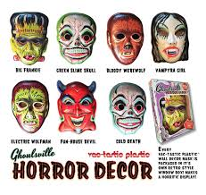 Ghoulsville Horror Decor Mask RTRO60 Disburst 1