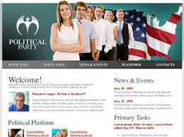 Political Website Templates Political Party Free Website Template Free Css Templates