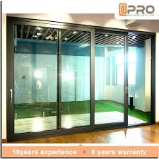 modren doors soundproof with soundproof sliding doors o