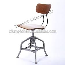 vintage industrial metal office chair metal. Vintage Industrial Metal Office Chair Triumph Toledo High Chairvintage Bar