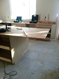 bar counter overhang standard supporting an overhanging granite