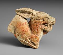 ancient greek colonization and trade and their influence on greek  terracotta vase in the form of a ketos sea monster
