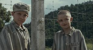 the boy in striped pajamas review something attempted something  bruno comes across the fence to help shmuel his father image source