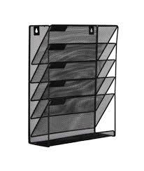 easypag mesh wall mounted file holder