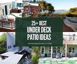 best under deck patio ideas and designs